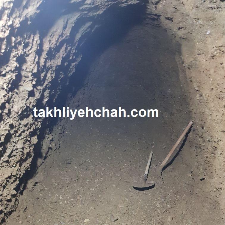 اندازه چاه فاضلاب