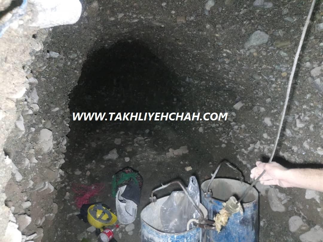 حفر چاه فاضلاب غرب تهران