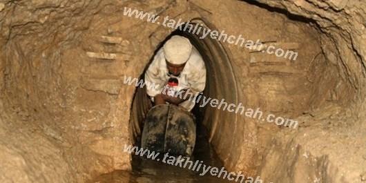 حفر چاه با چاه کن ایرانی
